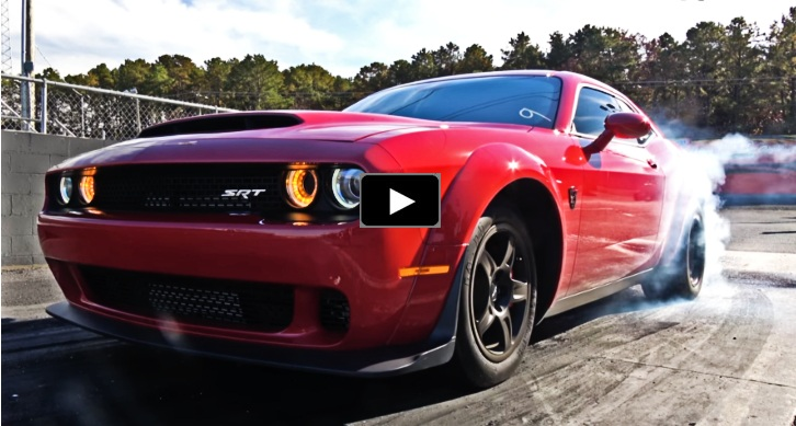 8 second dodge demon drag racing