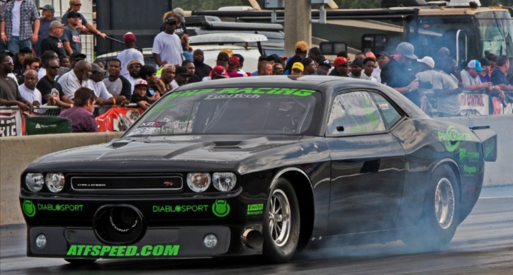 rob goss dodge challenger new hemi record
