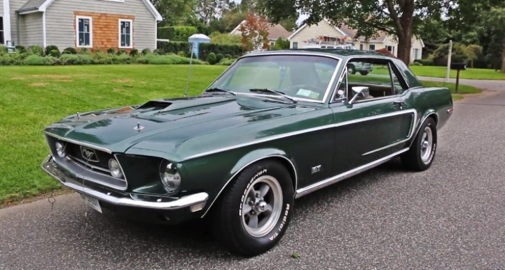 1968 ford mustang gt 347 roush engine