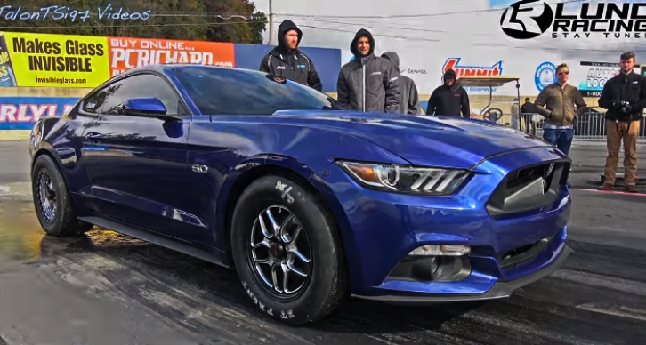 7 second mustang s550 lund racing