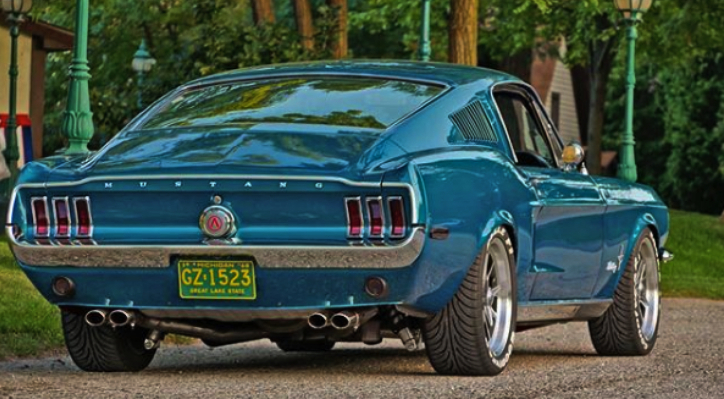 1968 mustang fastback build