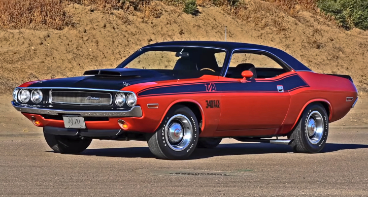 first generation dodge challenger production