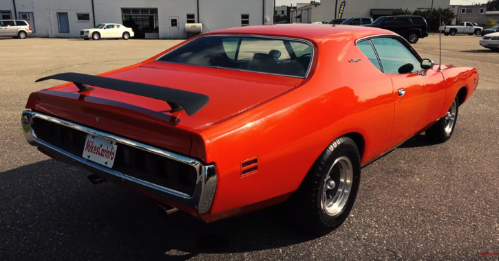 orange 1971 dodge charger review