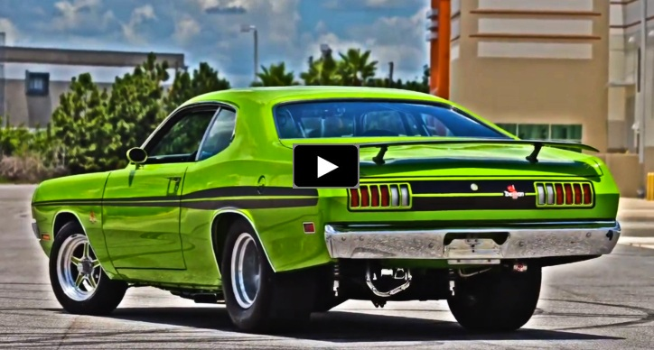 sublime green 1971 dodge demon build