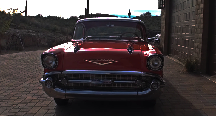 1957 chevy bel air survivor