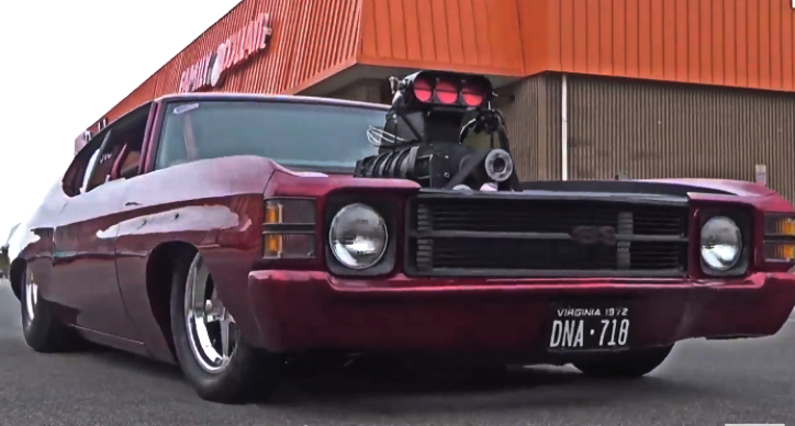 pro street chevy chevelle builds