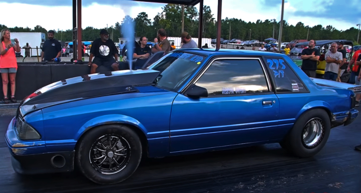 tennessee kid fox body mustang drag racing