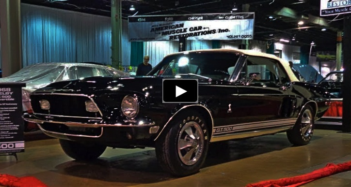 rare 1968 shelby gt500 multiple award winner