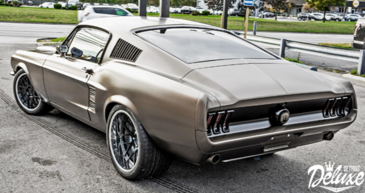 detroit deluxe mustang fastback build