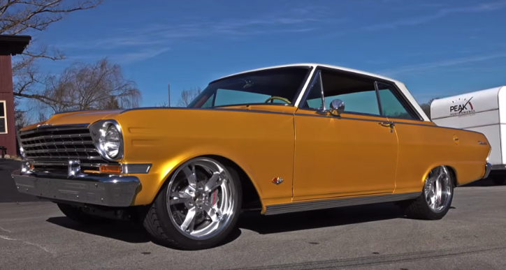 1963 chevy II nova pro touring build