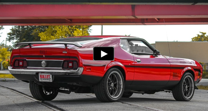 1973 ford mustang 351 automatic