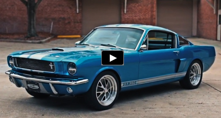 authentic 1966 shelby gt350 reproduction