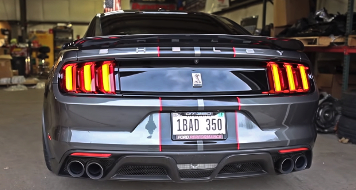 highest horsepower shelby gt350