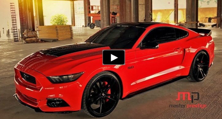 customized ford mustang gt inferno