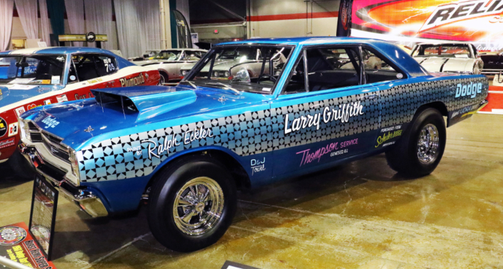 1968 dodge hemi dart raced by larry griffith