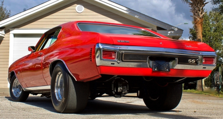 red 1970 chevy chevelle big block build