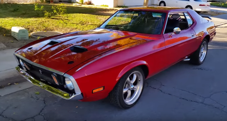 1973 ford mustang coupe 302 v8