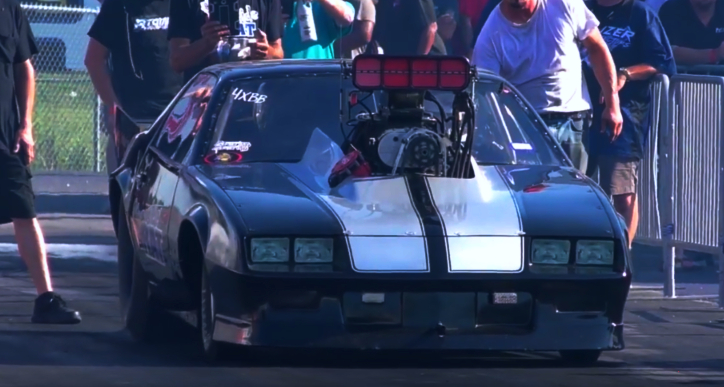 riverside rat iroc camaro drag racing