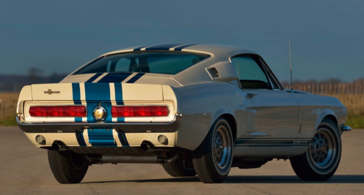 one of one 1967 shelby gt500 super snake