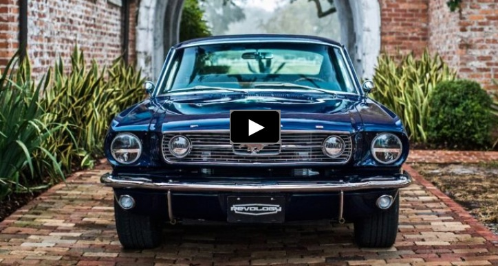 blue 1966 mustang fastback gt build