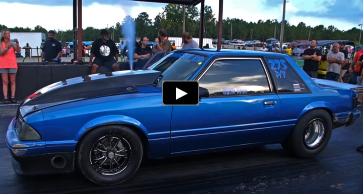 braxton hopkins nitrous mustang drag racing