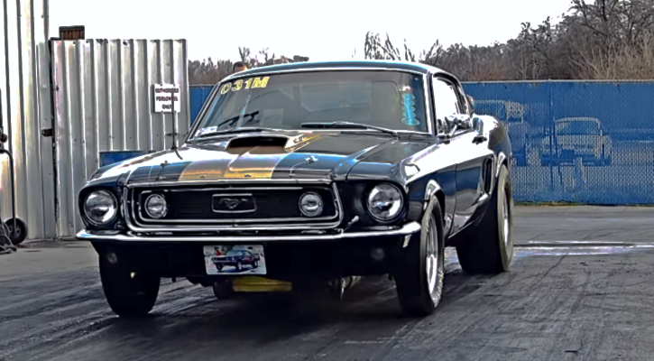 428 cobra jet mustang drag racing