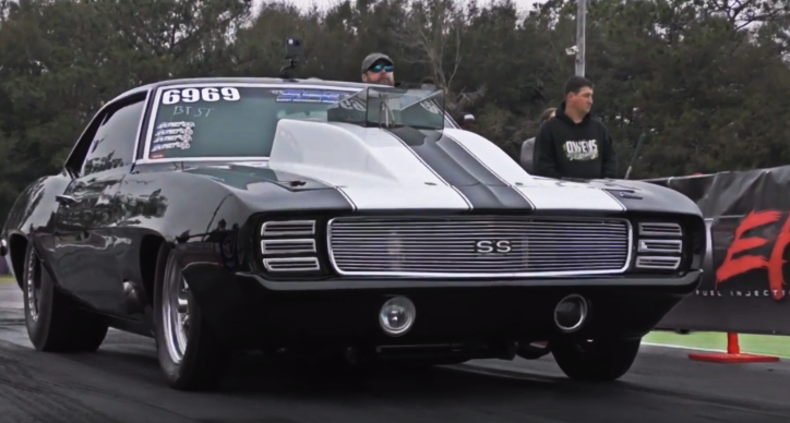 nitrous camaro drag racing jeff lutz chevy