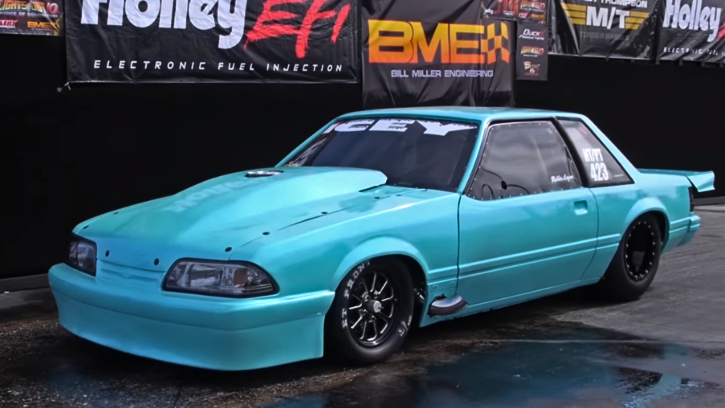 small block fox body mustang icey 2.0