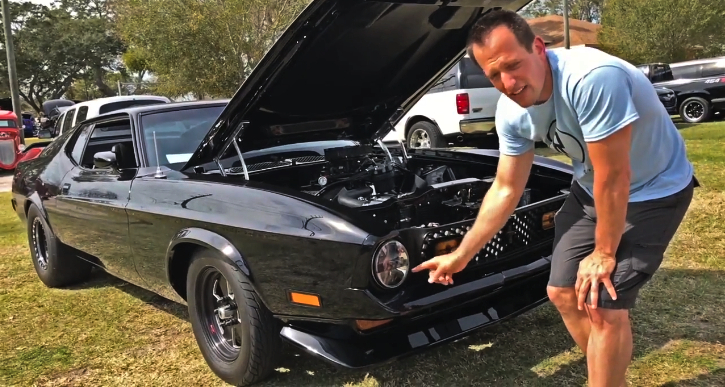 custom built 1972 ford mustang mach 1