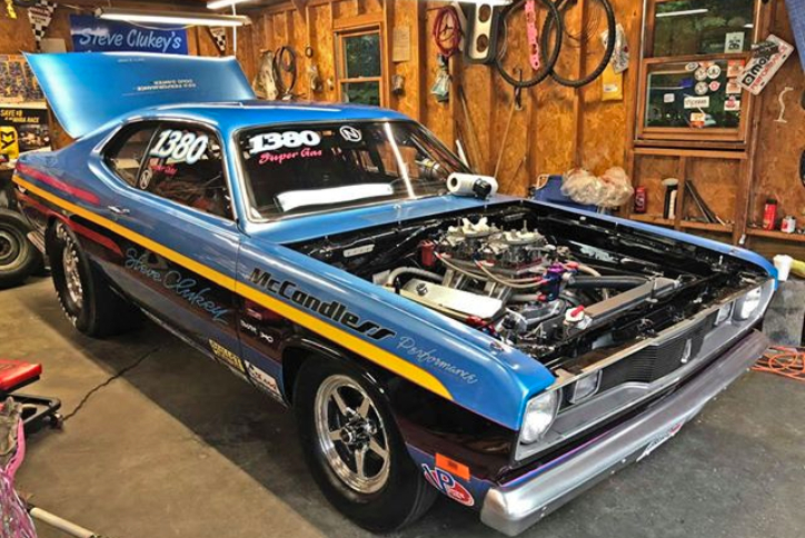 plymouth duster 440 small block mopar