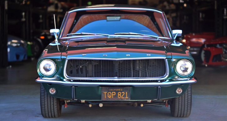 1967 ford mustang coyote 5.0 motor