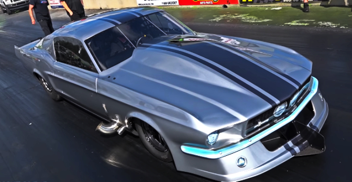 1967 mustang gt500 radial race car