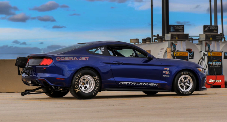 2016 super cobra jet mustang in action