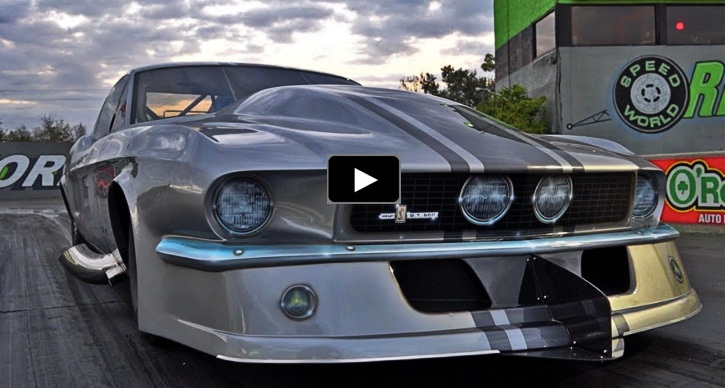 josh klugger new 1967 mustang gt500 drag racing