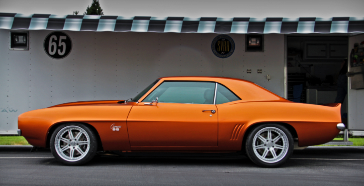 1969 chevy luminous camaro 572 big block