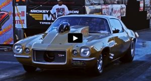 second generation z28 camaro drag racing
