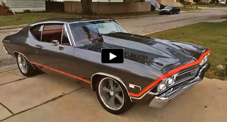 original SS 1968 chevelle restored