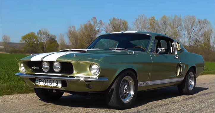 real 1967 shelby gt500 428 cobra