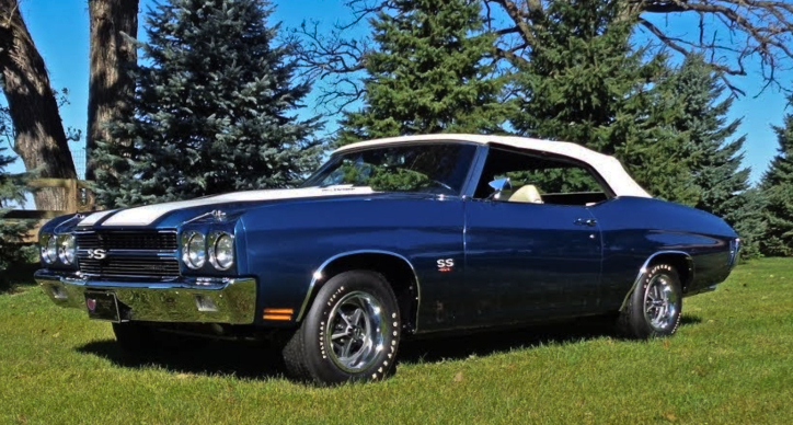 1970 Chevy Chevelle Ss 454 Convertible