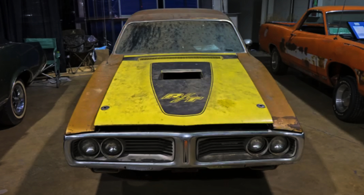 rare 1972 dodge charger 440 4 speed