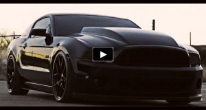 murdered out 2014 ford mustang video