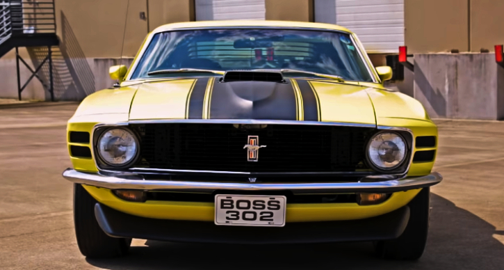 1970 mustang boss 302 video review