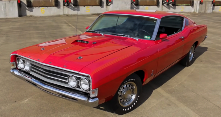 Ford Muscle Cars >> 69 Ford Torino Cobra The Muscle Car Definition Hot Cars