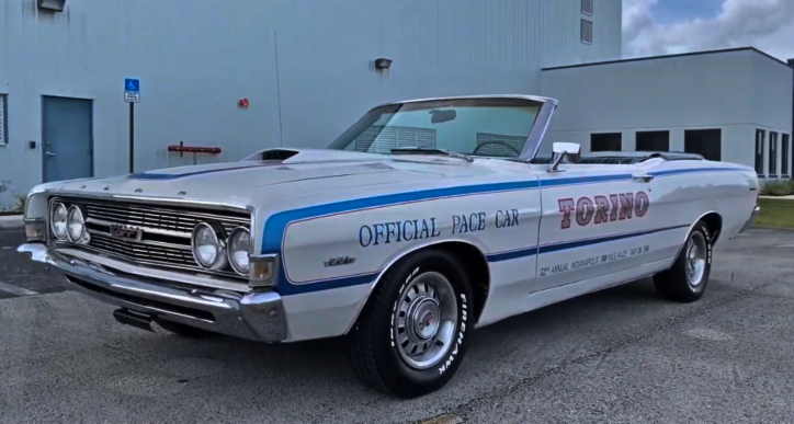 1968 Ford Torino GT Convertible Indy 500 Pace Car | HOT CARS