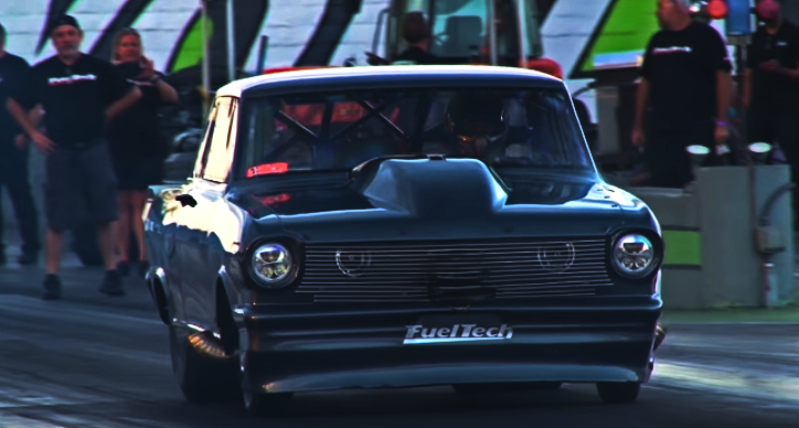 street outlaws goliath nova new twin turbo set up
