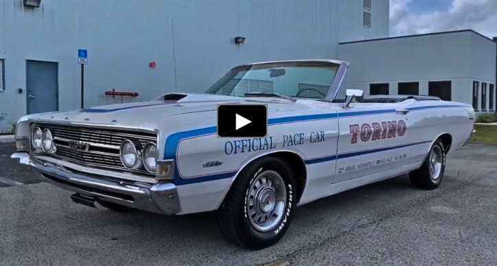 1968 ford torino gt convertible indy 500