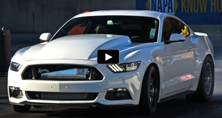 9 second twin turbo 2016 mustang gt