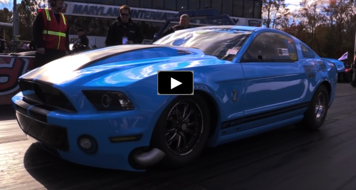 turbo mustang gt500 devil's reject drag racing