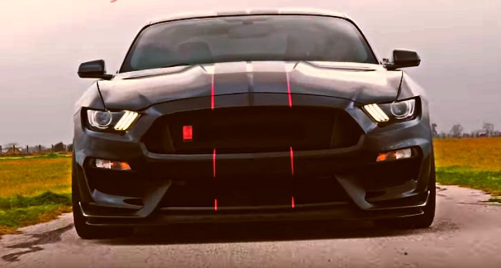 hennessey shelby gt350r mustang