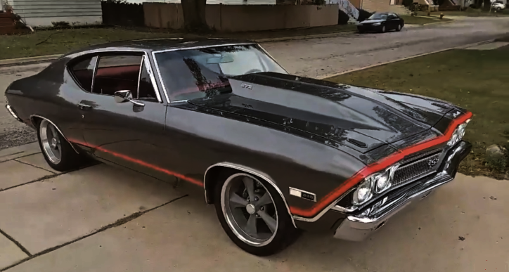 1968 chevrolet chevelle 572 big block